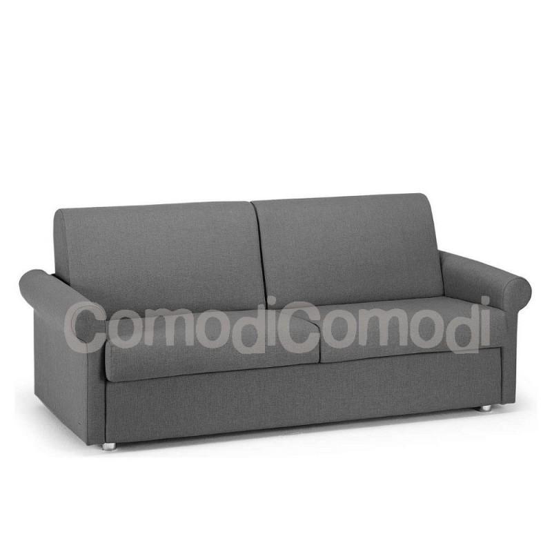 Ermes divano letto gemellare 2 letti singoli mat 70cm for Divano letto ribaltabile