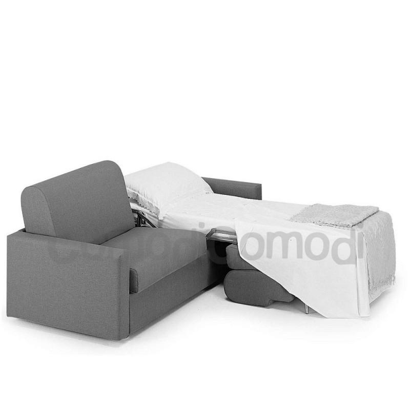 Idea - Divano letto gemellare - 2 letti singoli Mat 70cm - ribaltabile