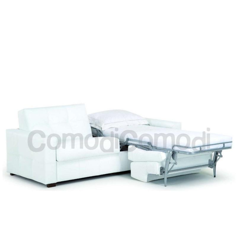 Eureka - Divano letto gemellare - 2 letti singoli Mat 70cm - ribaltabile