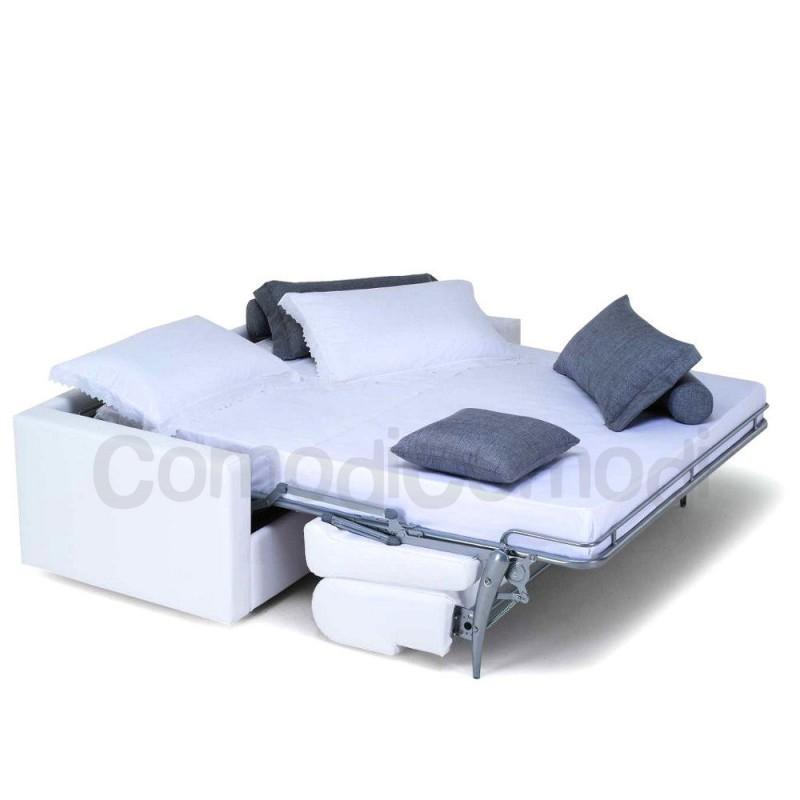 Idea - Divano letto 3p - Mat 140cm - ribaltabile
