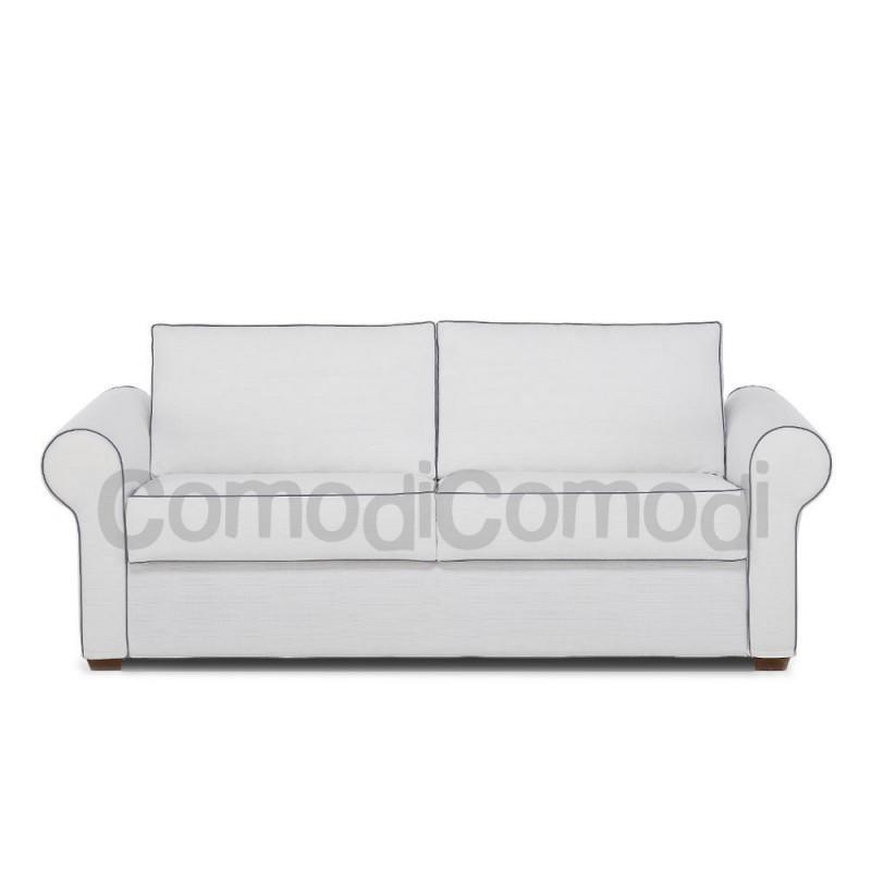 Nube divano letto 3p mat 140cm ribaltabile for Divano letto ribaltabile