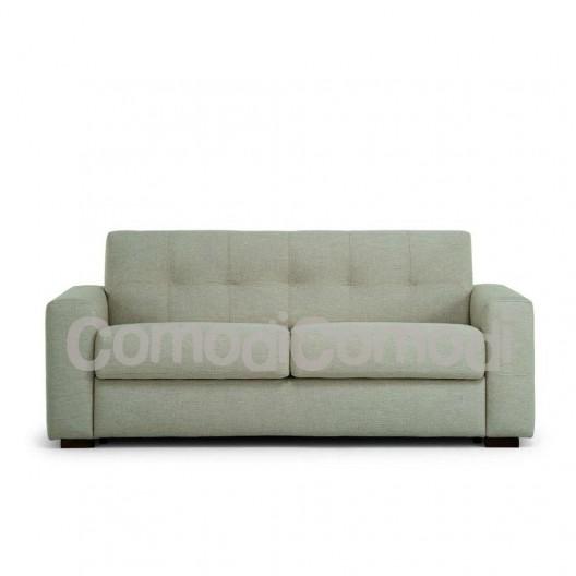 Eureka - Divano letto 3p - Mat 140cm - ribaltabile