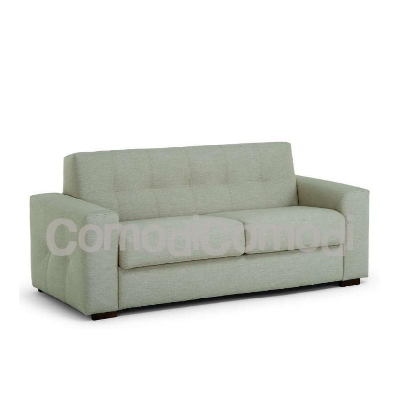 Eureka divano letto 3p mat 140cm ribaltabile for Divano letto ribaltabile