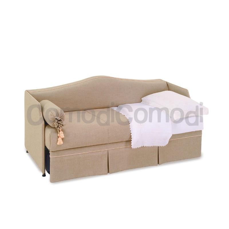 Divano letto con chaise longue laterale 2 posti con - Divano due posti con chaise longue ...