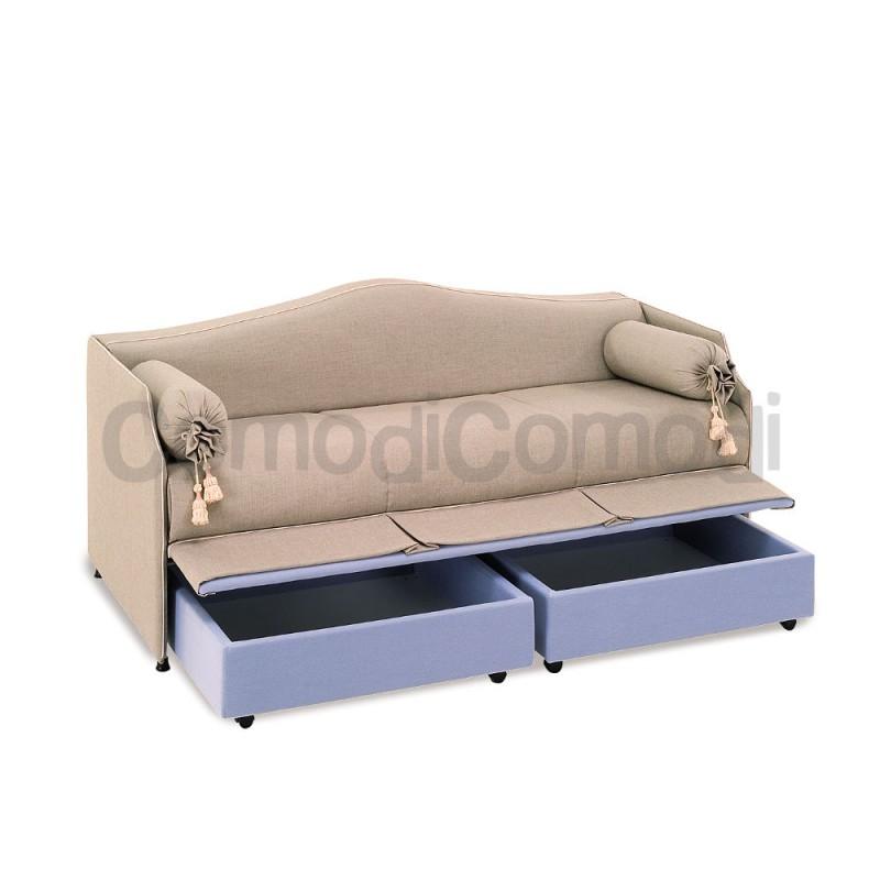 Chimera letto estraibile divano doppio letto mat h for Doppio letto estraibile