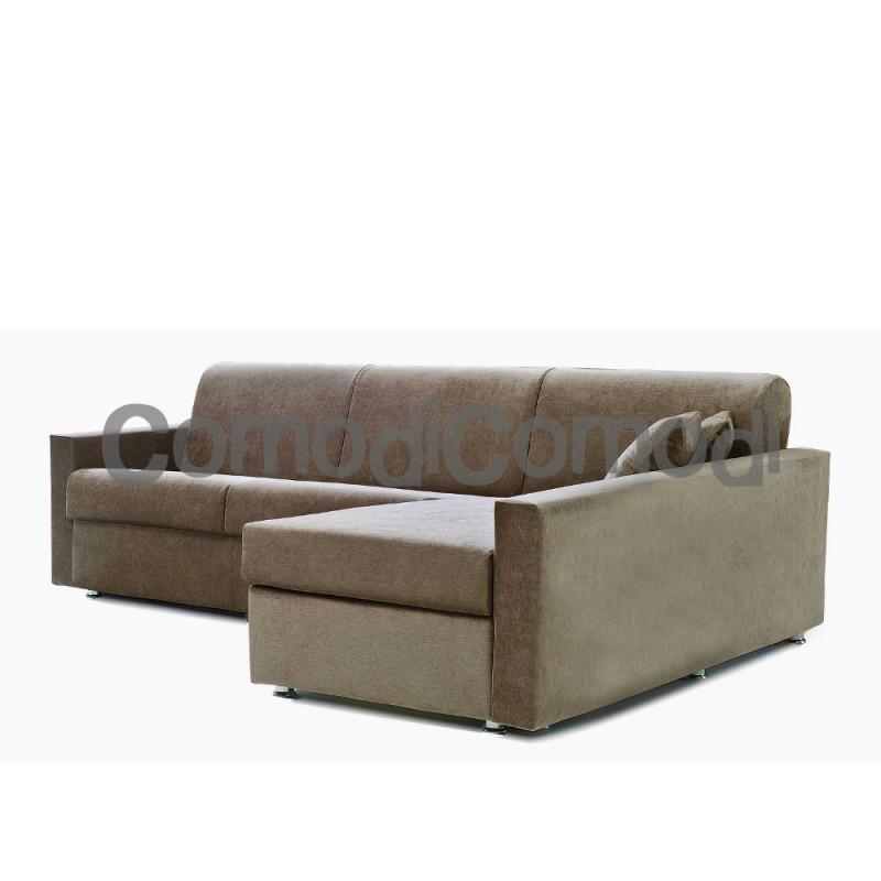 Idea divano letto 3p chaise longue box mat 140cm - Divani letto con chaise longue ...
