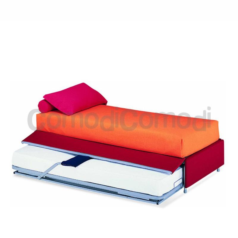 Cupido letto estraibile divano doppio letto mat h - Letto doppio estraibile ...