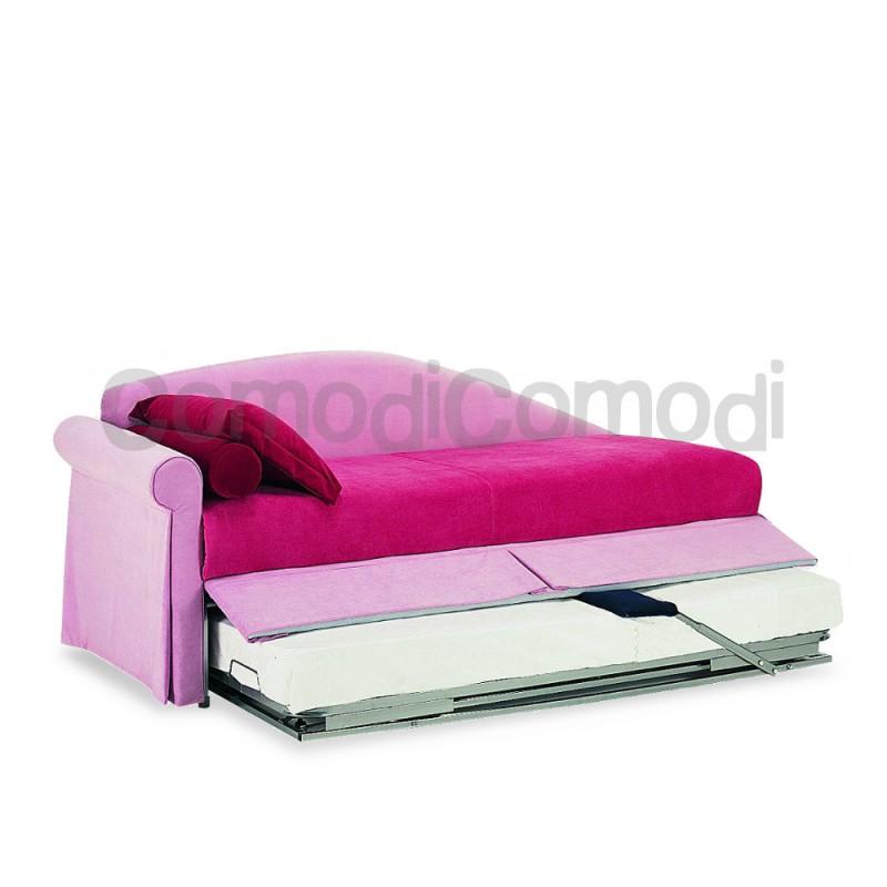 Didone letto estraibile divano doppio letto mat h - Letto estraibile ...