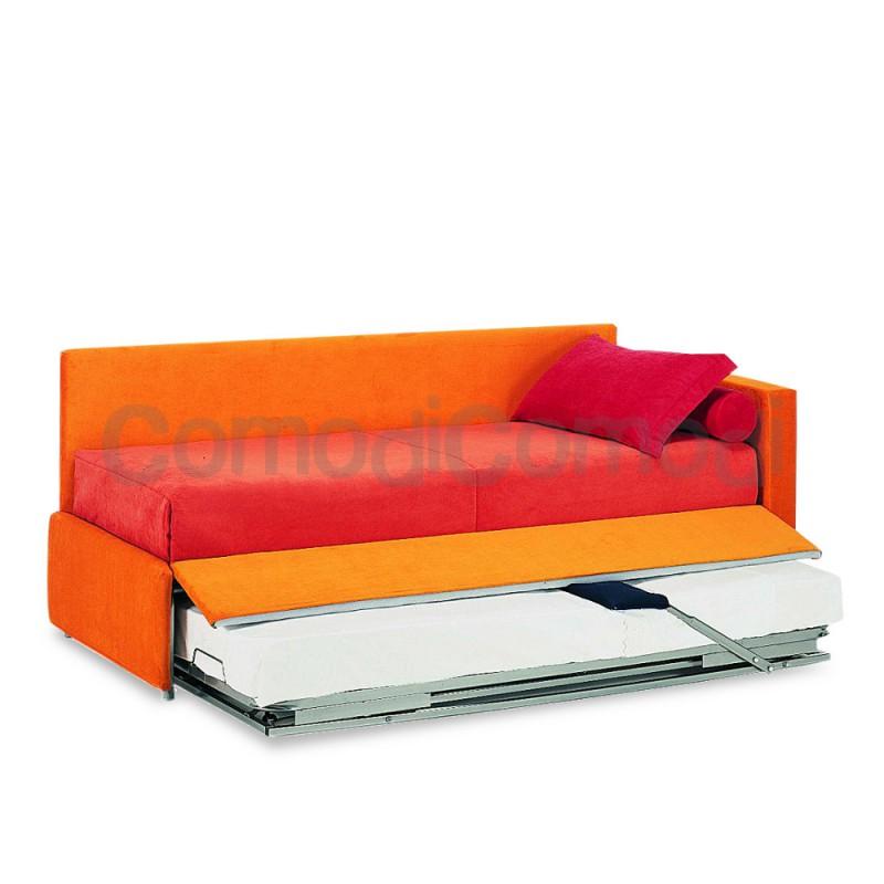 Enea letto estraibile divano doppio letto mat h for Doppio letto estraibile