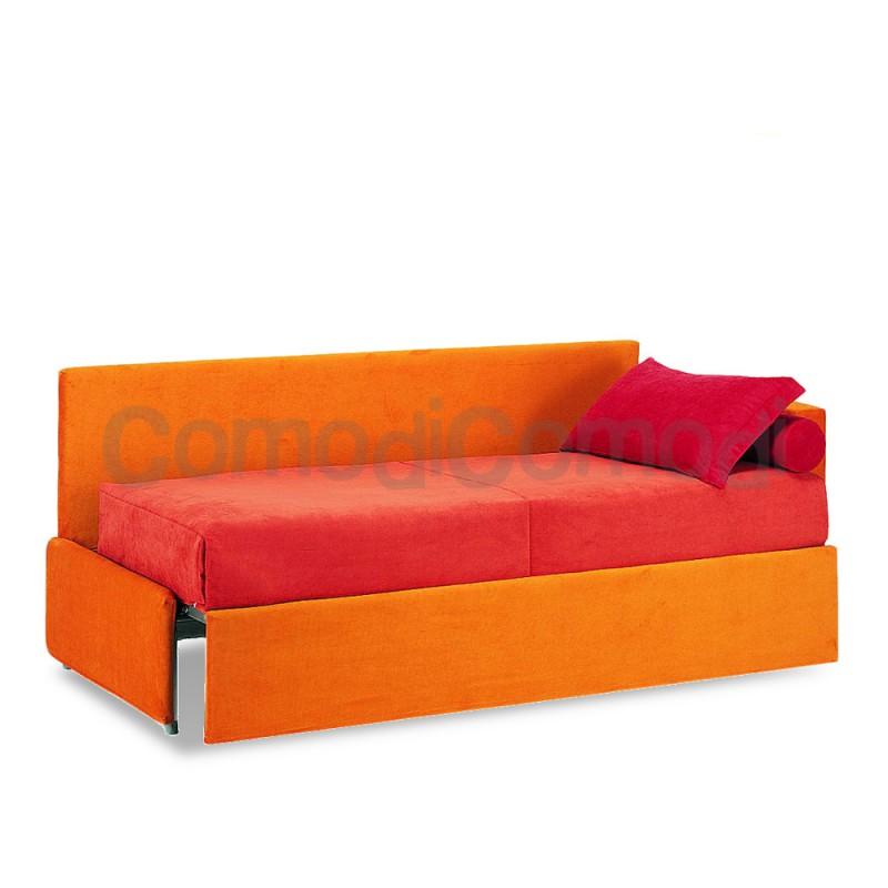 Enea letto estraibile divano doppio letto mat h 20cm l 190cm - Letto doppio estraibile ...