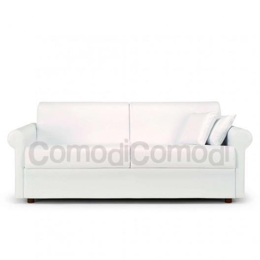 Ermes divano letto 3p max mat 160cm ribaltabile - Divano letto ribaltabile ...