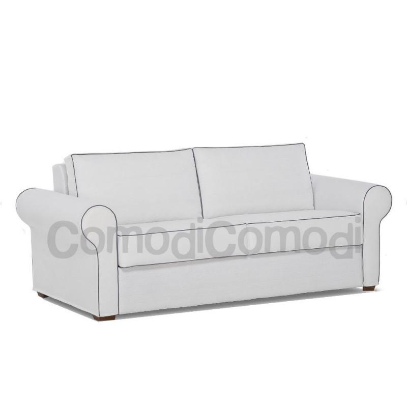 Nube divano letto 3p max mat 160cm ribaltabile for Divano letto ribaltabile