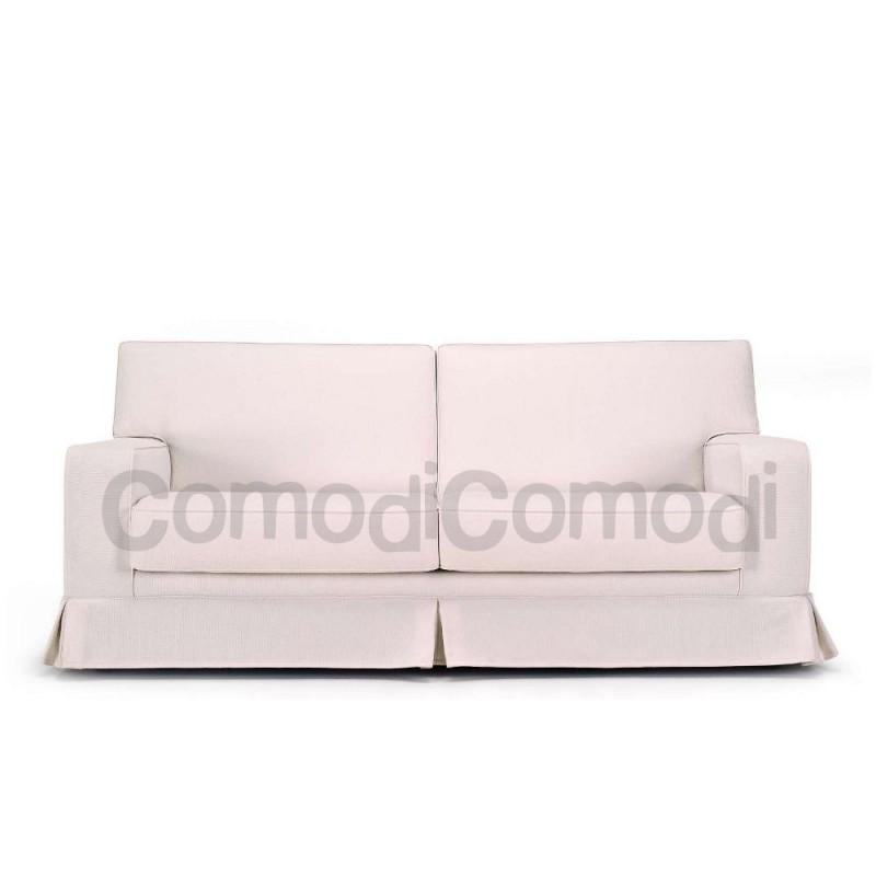 Lusinia - Divano letto 3p max - Mat 160cm - 2pieghe